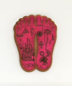 Srimati Radharani Lotus Feet
