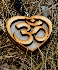 OM wooden Necklace 2