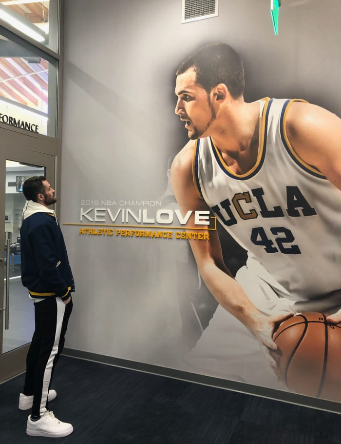 Cavaliers Star Kevin Love Tours UCLA Performance Center ...