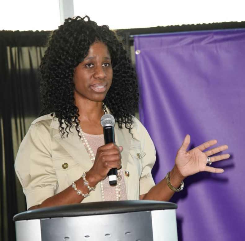 terri-jackson-podium-speech