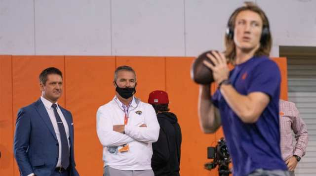 Trevor Lawrence Urban Meyer