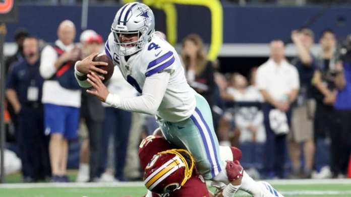 Prescott—who was franchised in March—has averaged 10 wins per year and hasn't missed a start in four seasons with Dallas.