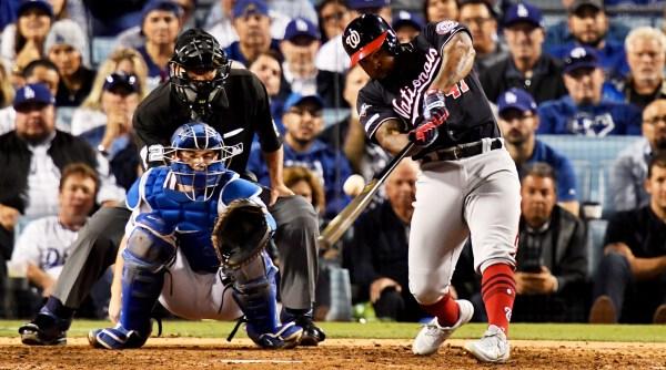Nats Win First Postseason Series, Crush Dodgers