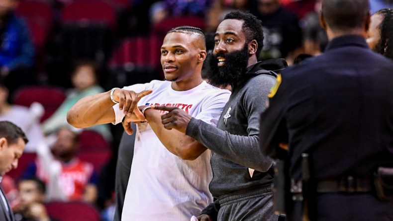 Image result for westbrook and harden