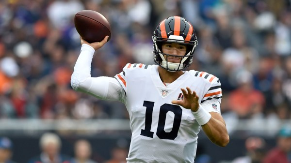 Report: Bears QB Mitchell Trubisky to Play vs. Saints