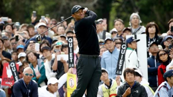 Tiger Overcomes Shaky Start, Takes Lead in PGA