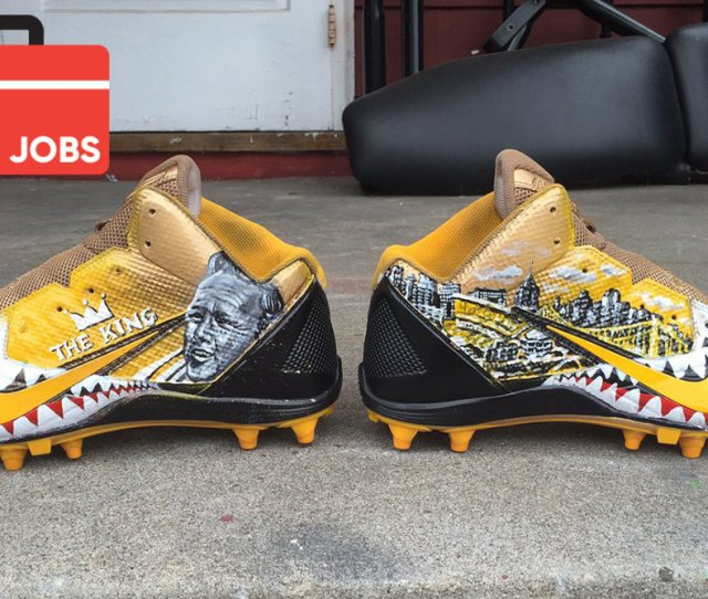 Antonio Browns Cleats Meet The Artist Behind Designs Sports