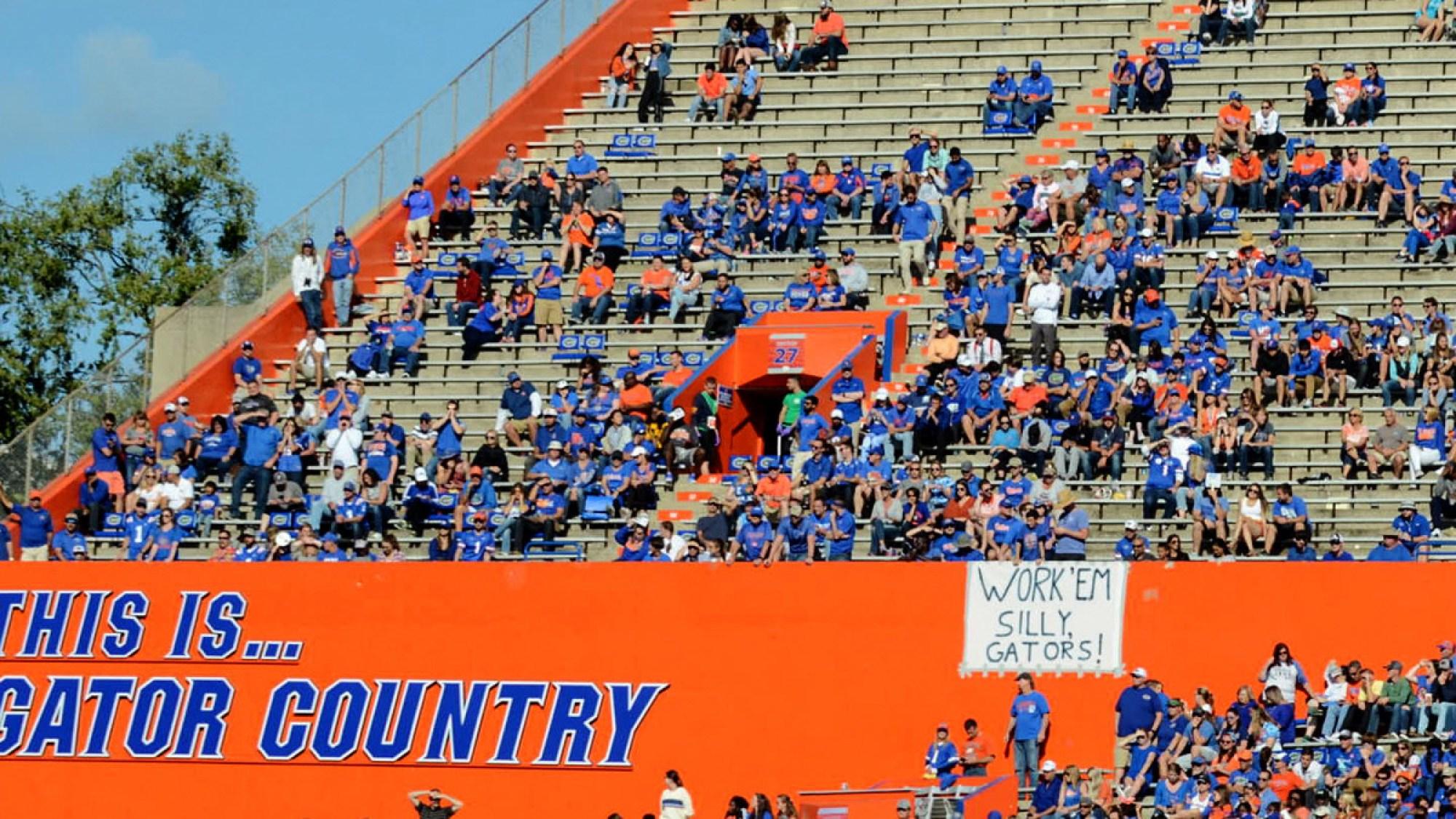 Florida Gators football attendance