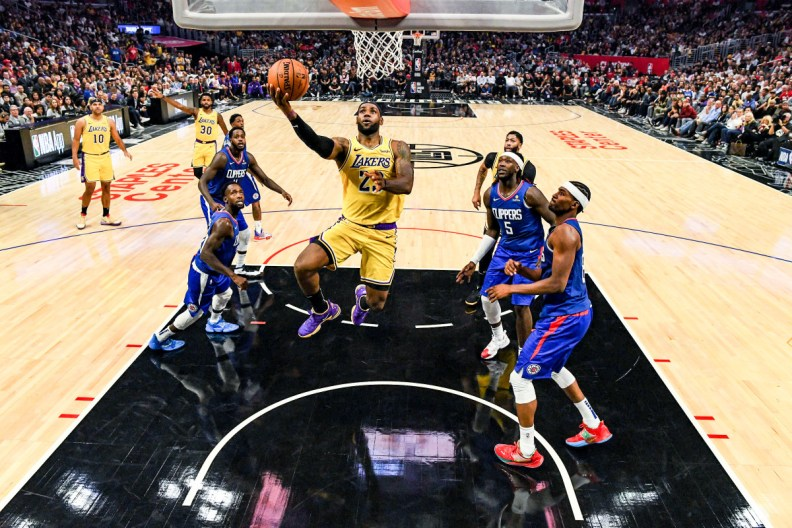 Lakers-Clippers? Might happen. But brokers won't be in on the action.