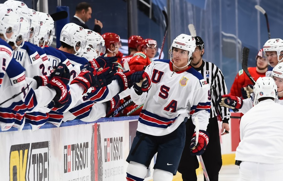 Trevor Zegras Goes Into Gold Medal Game as an All-Time ...