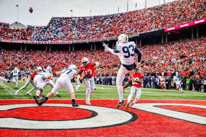 Penn State vs Ohio State Football in Columbus, 2019