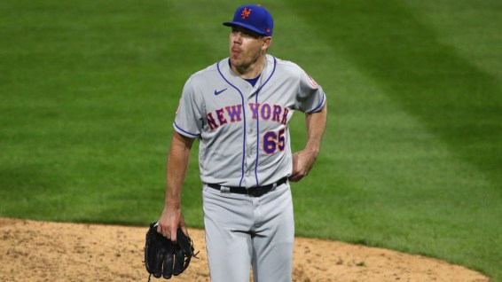 Newly acquired, Trevor May, was part of the Mets downfall last night