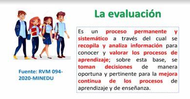 ¿Como es la EVALUACIÓN FORMATIVA en el marco de la emergencia sanitaria generada por el COVID-19?