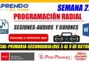 ¡Descargar en un sólo link! AUDIOS Y GUIONES – SEMANA 27 – PROGRAMACIÓN RADIAL [Aprendo en Casa: Inicial – Primaria – Secundaria][Del 5 de setiembre al 9 de octubre de 2020]