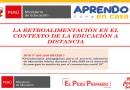 PAUTAS PARA LA RETROALIMENTACIÓN EN EL CONTEXTO DE LA EDUCACIÓN A DISTANCIA- RVM No 093-2020-MINEDU[Entérate Aquí]PDF 📢