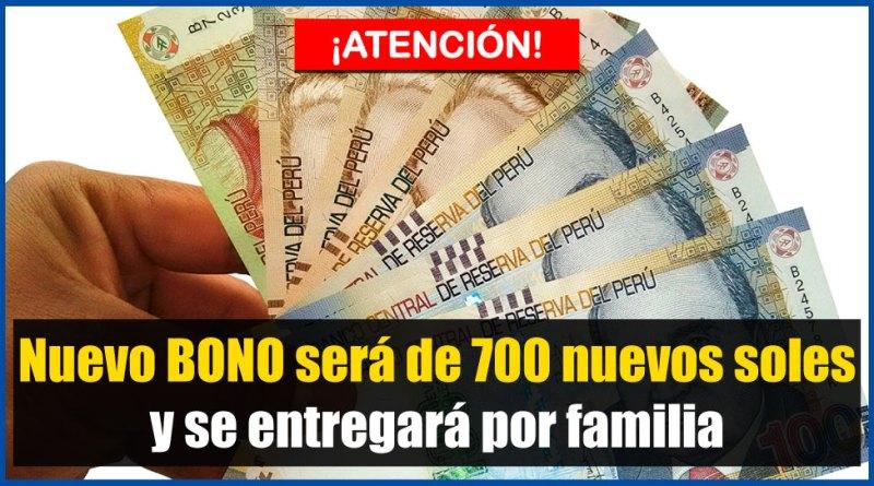 ATENCIÓN: Nuevo bono será de 700 nuevos soles y se entregará por familia [Conócelo aquí]