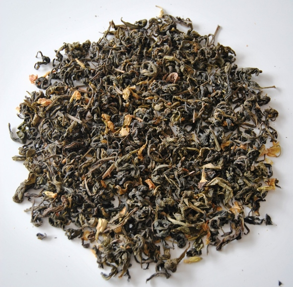 DMS Bai Yai Xianpian Jasmine Tea - Jasmine-scented green tea from Doi Mae Salong, north Thailand
