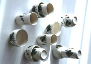 'Sketches 1', Aroma / Drinking Cup Set, 12-piece, ceramics