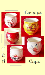 Tea Cups / Tea Glasses