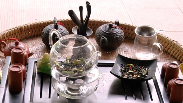 Siam Blend Black, reminiscent of Thai cuisine with Thai spices, flowers and herbs