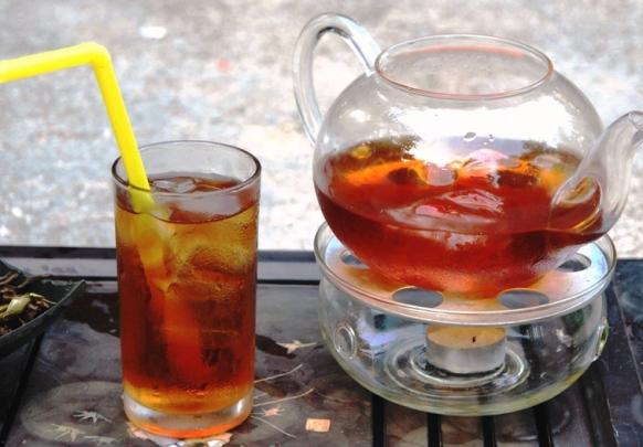 Siam Blend Black Thai Tea Blend enjoyed as refreshing ice tea