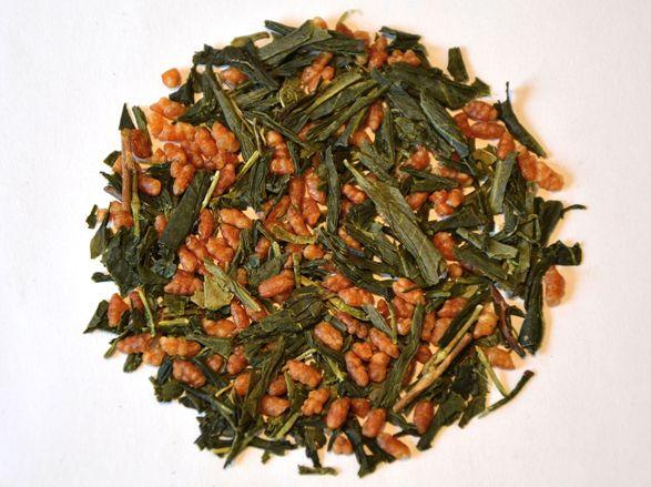 japanese Genmaicha tea from Wazuka, Kyoto