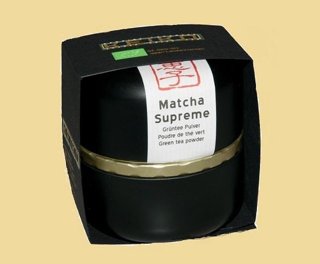 Matcha Supreme - top-ranking Matcha Tea from Kagoshima