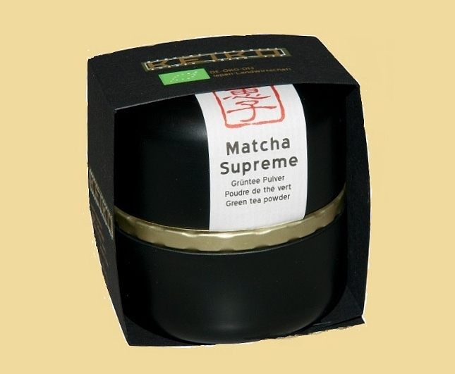Matcha Supreme - top-ranking Matcha Tea from Kagoshima