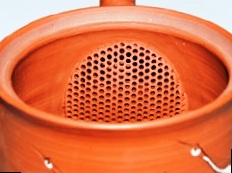 Sieve type: integrated clay sieve