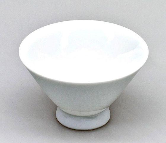 Japanese ceramics tea cup, whiute, 100ml
