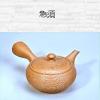 Japanese Teapot, beige, 380ml, clay, handmade