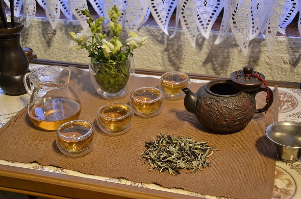 Ancient Tree White Moonlight White Tea from Yunnan's ancient tea trees - Gong Fu Cha Style