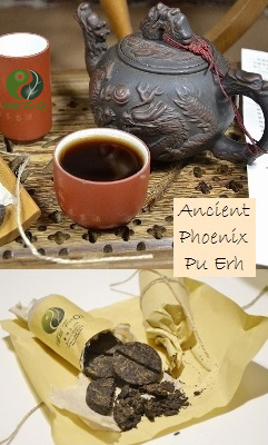 Ancient Phoenix Ripened ('shu') Puer Tea
