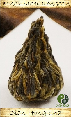 Black Needle Pagoda Black Tea from ancient wild Yunnan tea trees