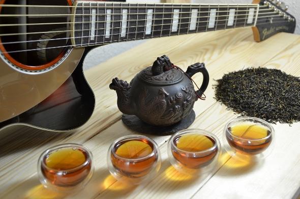 Jin Mao Hue Golden Monkey Black Tea from Fujian