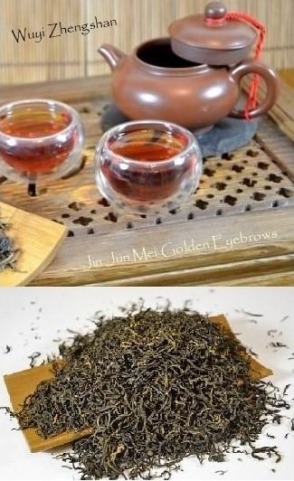 Qingming Zhengshan Jin Jun Mei Golden Eyebrows Wuyi Black Tea