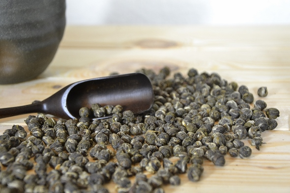 High Grade Dragon Pearls Jasmine Tea from Fuding, Fujian, China