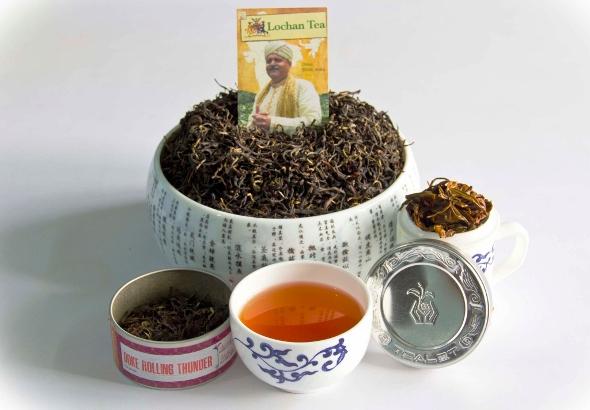 Doke Rolling Thunder Oolong tea by Rajiv Lochan's Doke tea garden