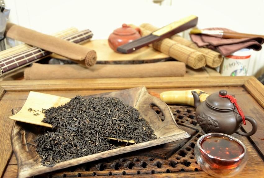 Goomtee FTGFOP 1 Classic Autumn Flush 2016 - Autumn Flush black tea from Goomtee tea estate, Darjeeling, India