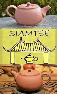 SiamTeas Signature Yixing Teapot, 200ml, red clay, unglazed, 100% handmade according to SiamTeas specifications