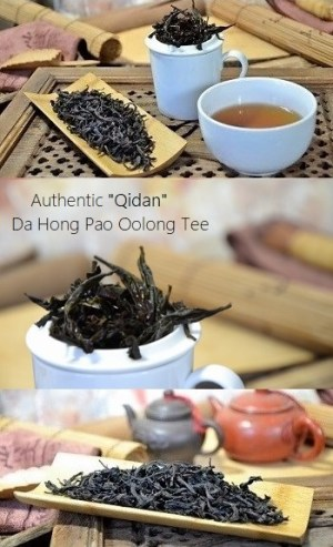 Authentic Qidan Da Hong Pao Oolong Tea from Cindy Chen, zhengyan, Wuyishan