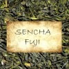 Sencha Fuji - unshaded Japanese Sencha tea of the spring picking at Mount Fuji, Shizuoka, Japan