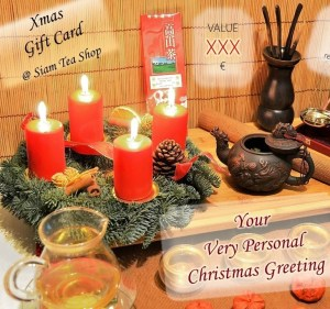 Siam Tea Shop Christmas Gift Card by Mail - Thumbnail