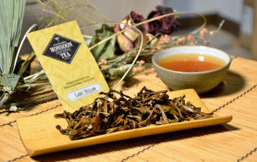 Lahu Yellow - yellow tea from forest-friendly cultivation in northern Thailand