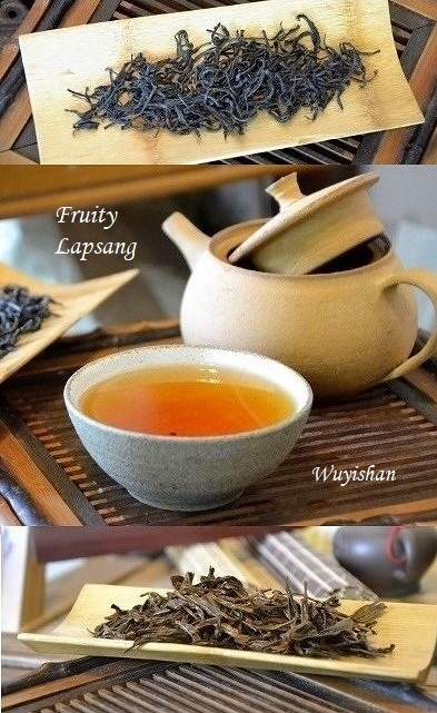 Fruity Wuyi Lapsang black tea from Wuyishan's zengshan area - picking standard 1+1 early spring from 60+ years old natural growing (non-garden) tea bushes