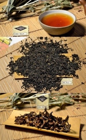 Lahu Forest Black - forest- and climate-friendly black tea picked by members of the Lahu mountain tribe in the forests of Amphoe Fang, Chiang Mai province, northern Thailand