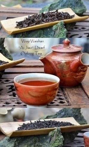 """Wuyi Waishan """"Ai Jiao"""" Dwarf Oolong Tea"""