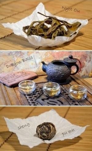 Nyot Ou Dragon Balls Sheng Pu Erh Tea