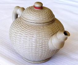 "Ton-Teekanne ""Simplicity"" im Siam Tee Shop: Close-up"