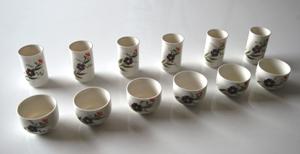 Chinesisches Riechbecher / Verkostungsbecher-Set für Tee